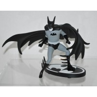 Batman Statue Black and White by Tony Millionaire