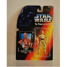 Star Wars Power of the Force C-3PO ©1995 Metalized Body