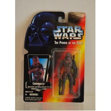 Star Wars Power of the Force Chewbacca Bowcaster & Heavy Blaster Rifle ©1995