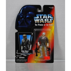 Star Wars The Power of the Force Han Solo in Hoth Gear ©1995