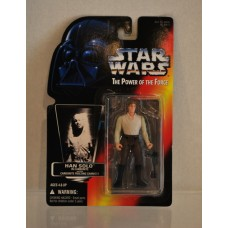 Star Wars Power of the Force Han Solo in Carbonite with Freezing Chamber ©1996