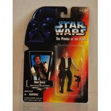 Star Wars Power of the Force Han Solo Red Card Heavy Assault Rifle & Blaster