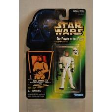 Star Wars Power of the Force Luke Skywalker in Stormtrooper Disguise ©1996