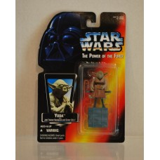 Star Wars Power of the Force Yoda Jedi Trainer Backpack & Gimer Stick ©1995