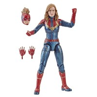 Captain Marvel Legends Carol Danvers Action Figure Wave 1