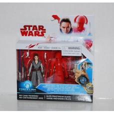 Star Wars - Rey Jedi Training and Elite Praetorian Guard - Wave 2