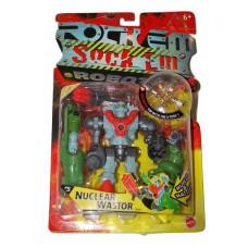 Rock Em Sock Em Toy Robots #5 Nuclear Wastor Special Edition Build & Battle