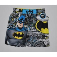 Batman Boys' Swim Trunks - UPF 50+ - Black XS