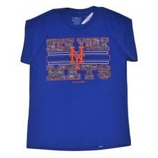 Boys NY Mets T-Shirts Blue LG