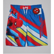 Boys' Spider-Man Swim Trunks-UPF 50+ - Red/Blue M
