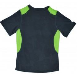 Boys' Textured Camo Tech T-Shirt - C9 Champion  - Charcoal Lime S