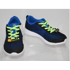 Boys Performance Athletic Shoes - C9 Champion  - Black/Blue 3