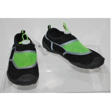 Boys Water Shoes M (2/3)- C9 Champion - Black/Green