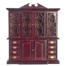 Town Square Miniatures Doll House China Cabinet - T3439