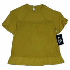 Girls' Knit Blouse - Art Class  Sage Meadow S
