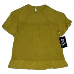 Girls' Knit Blouse - Art Class  Sage Meadow S