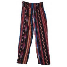 Girls' Tribal Straight Pants - Art Class  M