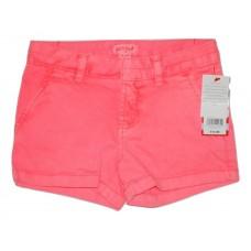 Girls' Chino Shorts - Cat & Jack  Sunrise Coral XS (4/5)