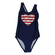 Girls 1-Piece Swimsuit Heart Cat & Jack - Blue XS