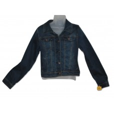 Girls Denim Blue Jean Jacket Vintage Wash XL
