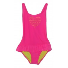 Cat & Jack Girl's One Piece Pink Swimsuit Med