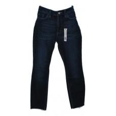 Girls Skinny Jeans by Lee Blue Denim Raw Hem Size 6 S