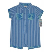 Baby Boy Romper - Cat & Jack  Blue 6-9 Months