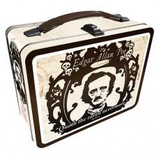 Edgar Allen Poe Tin Lunch Box