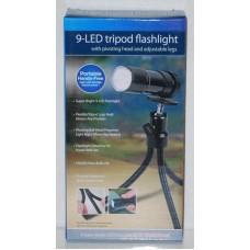 Mini LED Tripod Flashlight