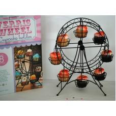 Black Metal Ferris Wheel Cupcake Holder