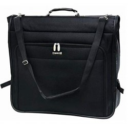 "46"" Business Travel Garment Bag Black Concourse"