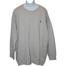 Mens Sweatshirt - Polo Ralph Lauren - 4XB  - Big & Tall - Gray