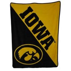 """NCAA Northwest Micro Throw Iowa Hawkeyes - 46"""" x 60"""""""