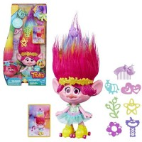 Dreamworks Trolls Party Hair Poppy Doll - HSE1471
