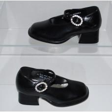 Coco Jumbo Mary Jane 3678 Girls Dressy Black Girls Shoes Size 5