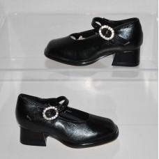 Coco Jumbo Mary Jane 3678 Girls Dressy Black Girls Shoes Size 6