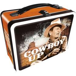 John Wayne Tin Lunch Box - Cowboy Up