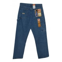 Wrangler  Men's Relaxed Fit Carpenter Jeans - Antique Stone 30x32