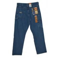 Wrangler  Men's Relaxed Fit Carpenter Jeans - Antique Stone 34x34