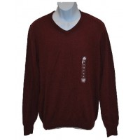 American Rag Men's Lightweight Pullover Sweater Red Garnet