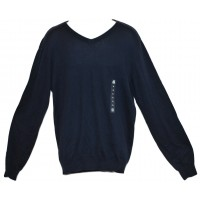 Navy V-Neck Sweater (Choose Size) American Rag