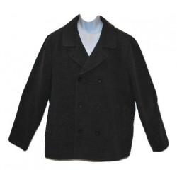 American Rag Men's Double-Breasted Pea Coat Dark Gray Heather 2XL