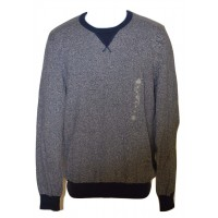 American Rag Two-Tone Blue Men's Crew-Neck Sweater