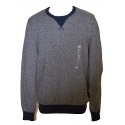 American Rag Two-Tone Blue Men's Crew-Neck Sweater