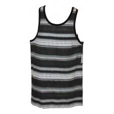 Ron Chereskin Jem Ombre Striped Tank Black LG