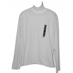 Calvin Klein Jeans Long Sleeve Jersey T-Shirt Light Gray 2XL