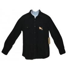 Denim Supply Ralph Lauren Black Western Shirt LG