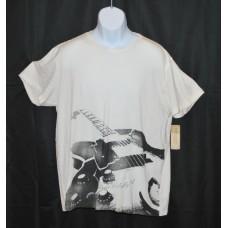 Denim Supply Ralph Lauren Guitar Graphic T-Shirt White XL