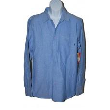 Element Button Front Blue Shirt LG