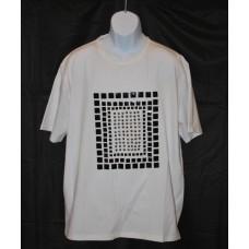 FORTE Metal Studs White T-Shirt 3XL